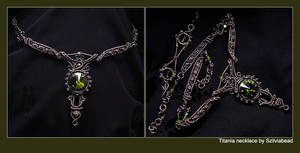 Titania necklace by bodaszilvia