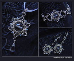 Starflower set by bodaszilvia