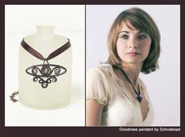 Goodness pendant by bodaszilvia
