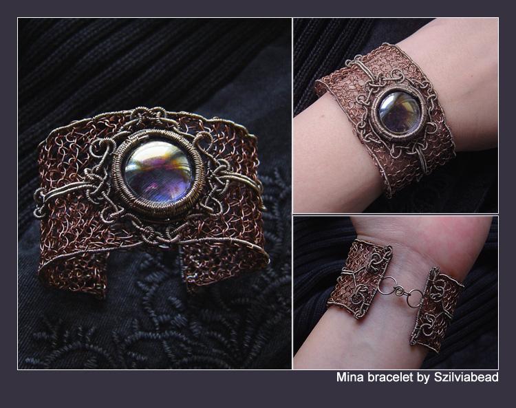 Mina bracelet by bodaszilvia
