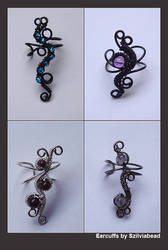 More ear cuffs by bodaszilvia