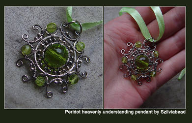 Heavenly understanding.Peridot by bodaszilvia