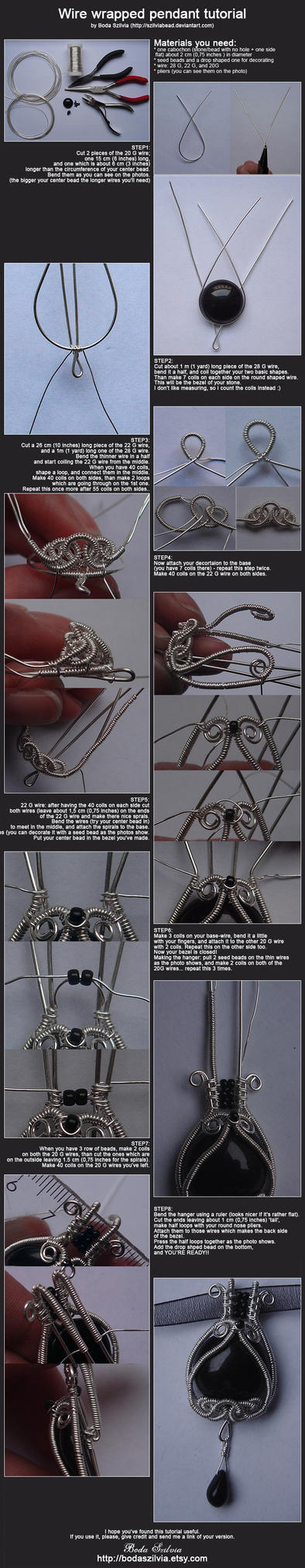 Wire-wrapping tutorial by bodaszilvia