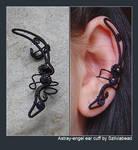 Astray-engel ear cuff