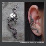 Sid steampunk ear cuff