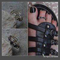 Toe rings by bodaszilvia
