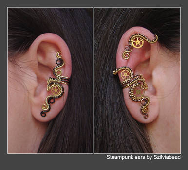 Steampunk ears by bodaszilvia