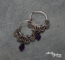 Circe earrings by bodaszilvia