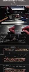 Steampunk ring tutorial by bodaszilvia