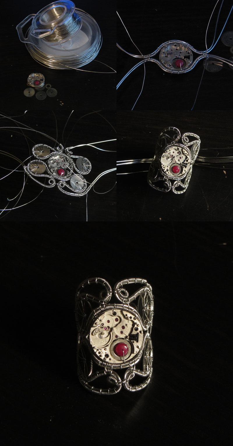 Custom steampunk ring walkthrough by bodaszilvia
