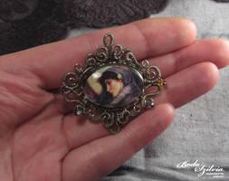 Boreas brooch by bodaszilvia