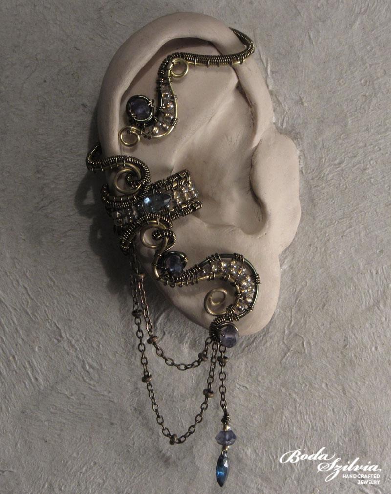 Golden age ear wrap by bodaszilvia