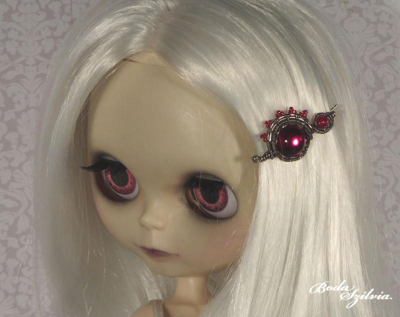 Hair pin for blythe dolls by bodaszilvia
