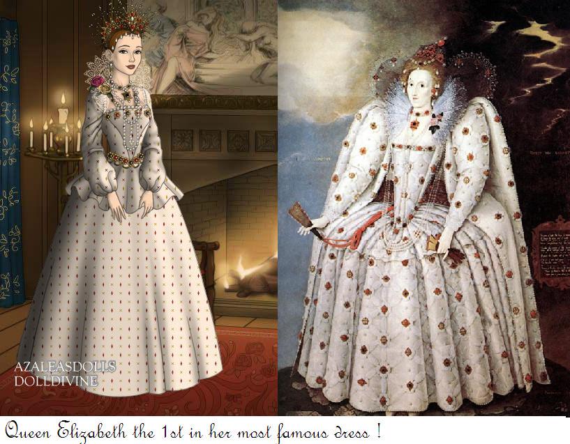 Queen Elizabeth The 1st by monsterhighlover3