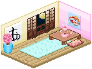Japanese room by monsterhighlover3