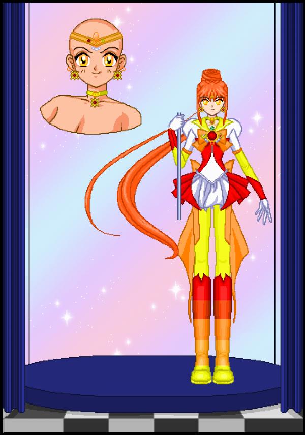 Sailor Sun Sonic by monsterhighlover3