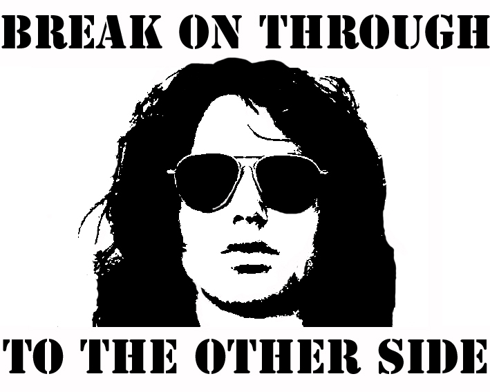 Jim Morrison Stencil by Athletic-JimmyThe Doors Stencil