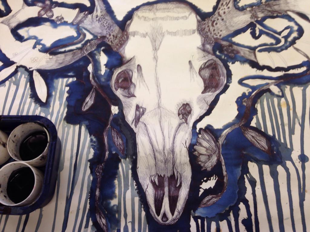 Continuation: WIP GCSE Beautiful Decay Final piece by SanctusTheFallen