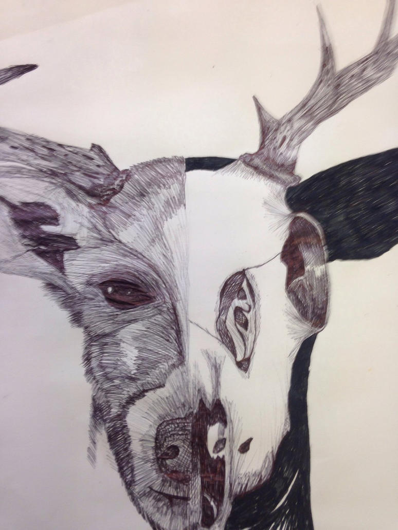GCSE: Artist Response to Paul Jackson by SanctusTheFallen