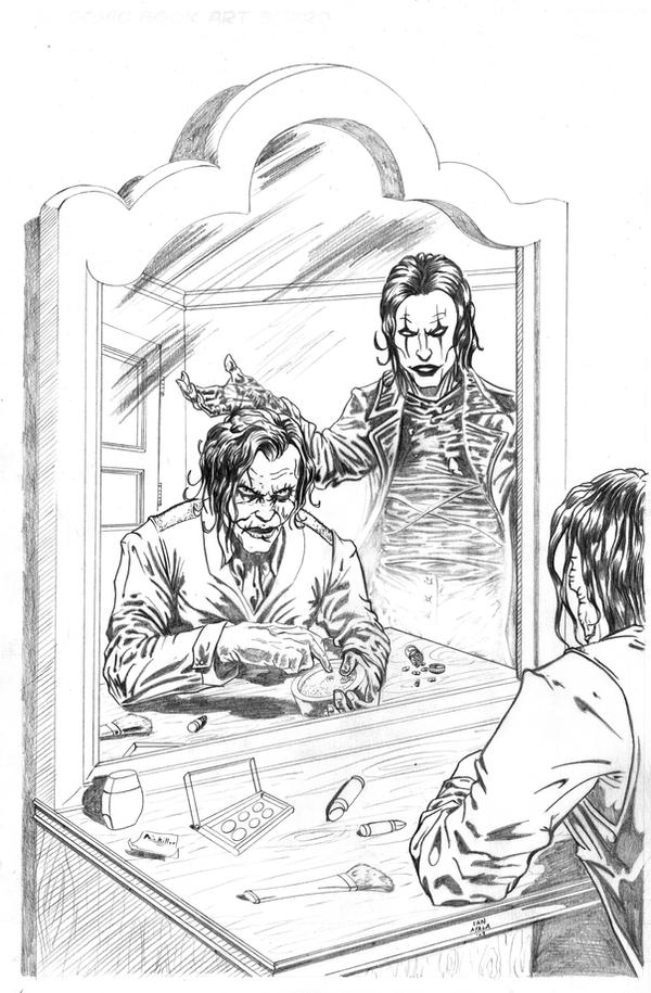 Heath Ledger and Brandon Lee by IanAyala