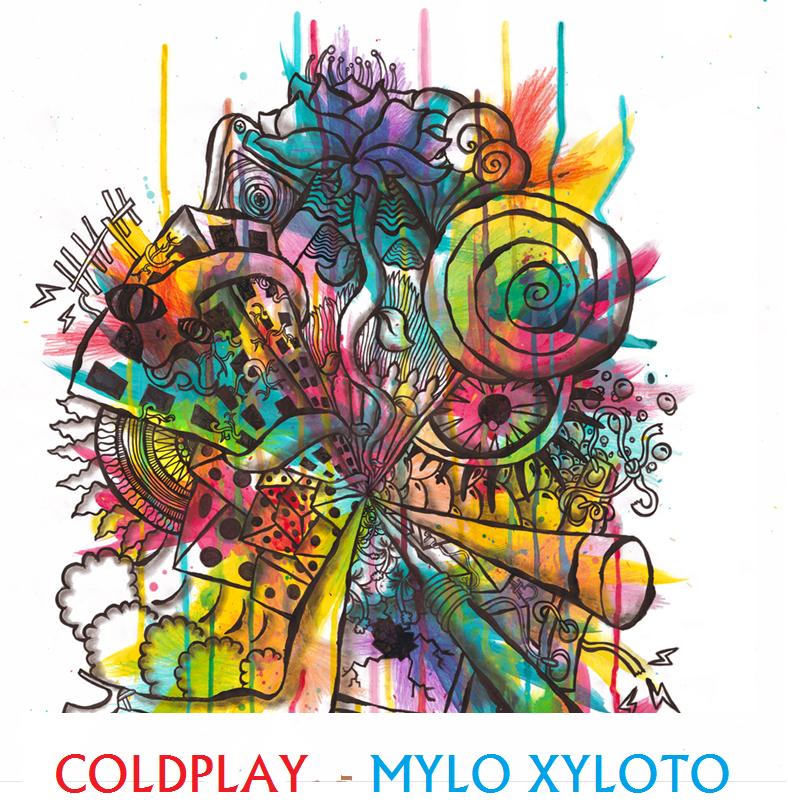 Mylo Xyloto Grafitti   www.imgkid.com - The Image Kid Has It!