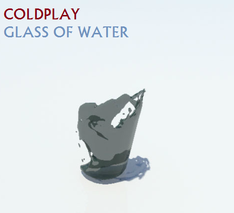 Coldplay Glass Of Water