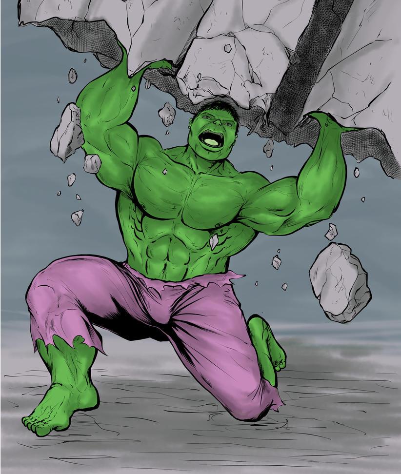 Hulk fanart by mrdenmac
