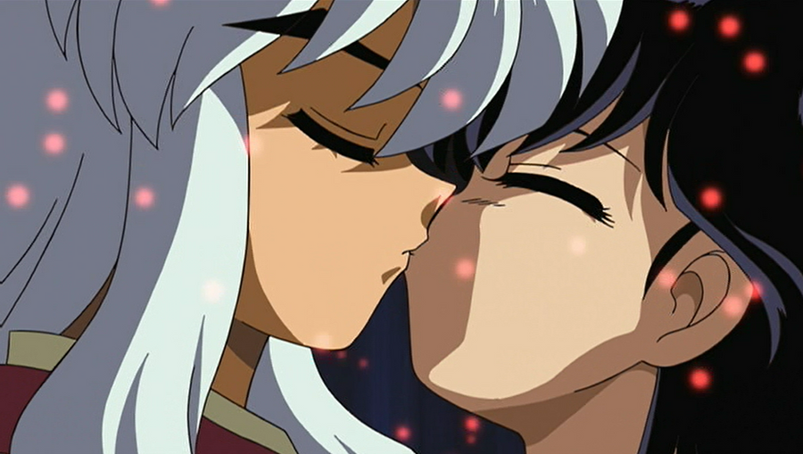 InuYasha and Kagome Kiss by RufusMisser on DeviantArt