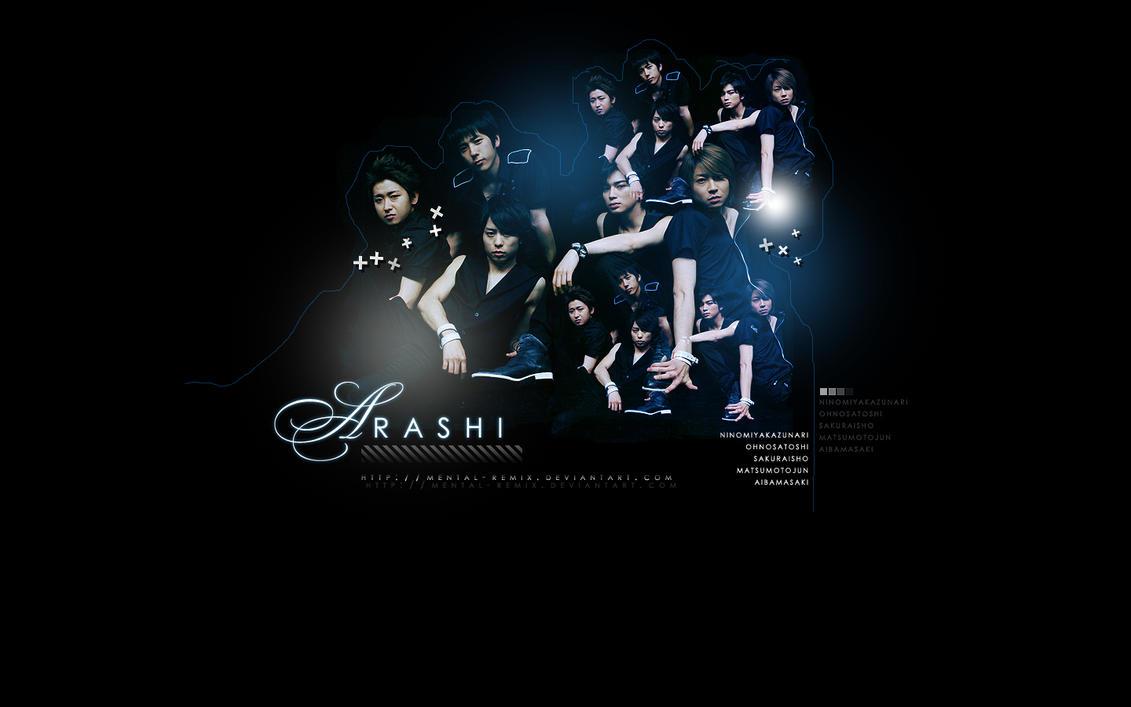 Arashi Wallpaper by mental-remix
