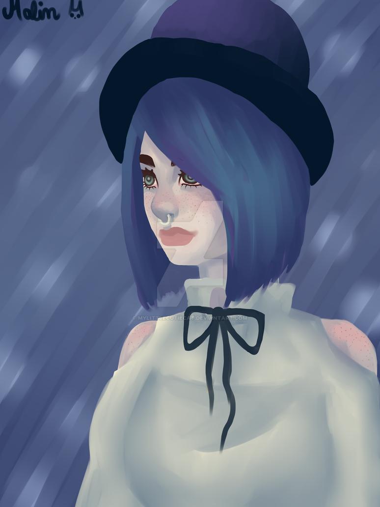 Portrait by MyLittleCutieCat