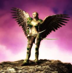 Battle Angel - Miriam by rrice