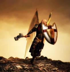Battle Angel - Gabriel by rrice