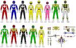 Power Rangers/Kyoryu Sentai Zyuranger