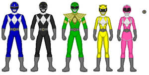 Mighty Morphin Mutant Rangers