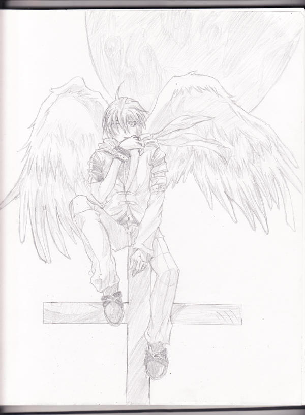 anime angel boy. Anime angel boy by ~Aoi-Ookami