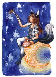 Rozen True - Black Fox by varvara777