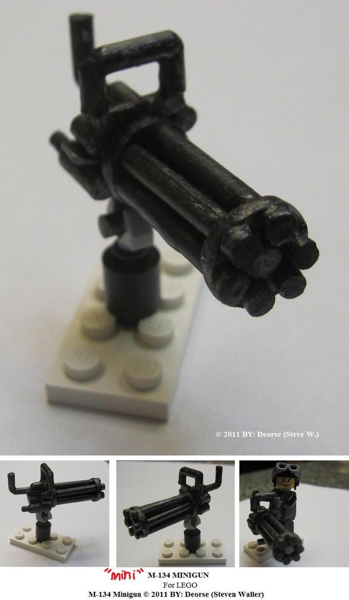 Схемы для сборки LEGO : Тема: Миниган (1/1) 73
