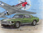 The Mustang by Deorse