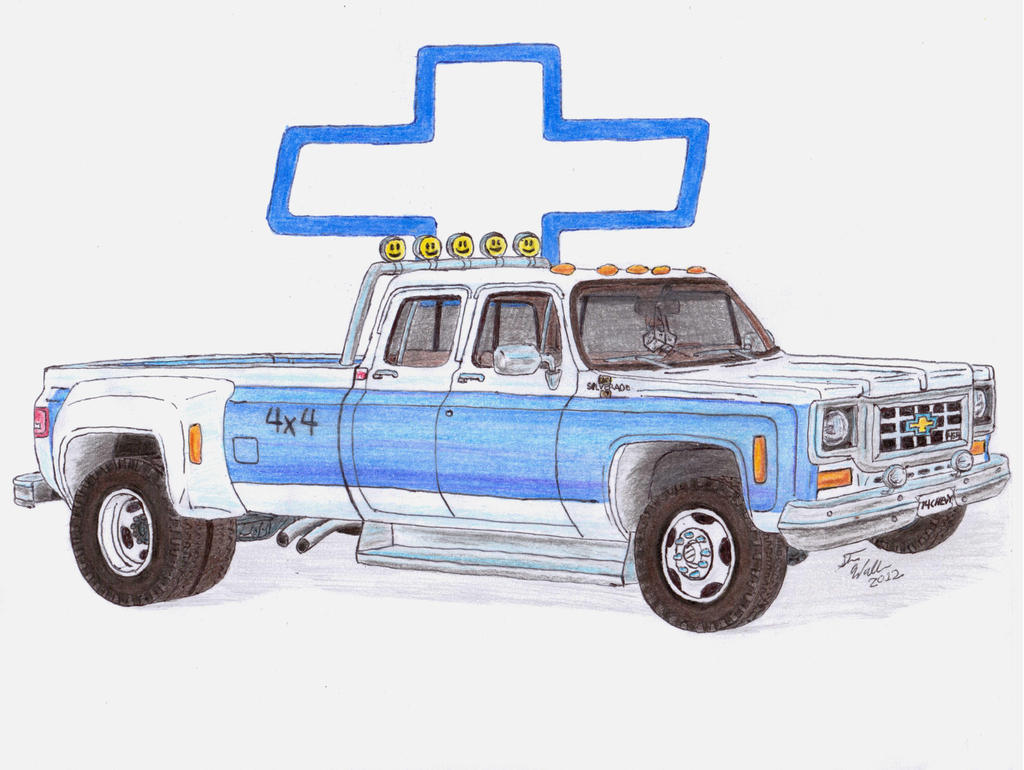 Gmc Diesel Trucks >> Buster's Chevy Truck by Deorse on DeviantArt