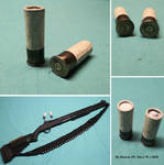 Real Functioning Homemade Paper Shotgun Shells by Deorse