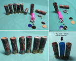 More Functioning Homemade Paper Shotgun Shells by Deorse