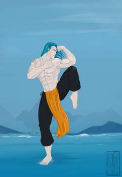 Iselor Kick Blue