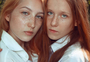 Redhead, freckles, perfect! by palomapi