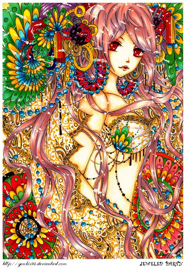 Jeweled Party by yuuki-ri