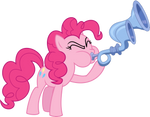 Pinkie pie with the Crystal Flugelhorn