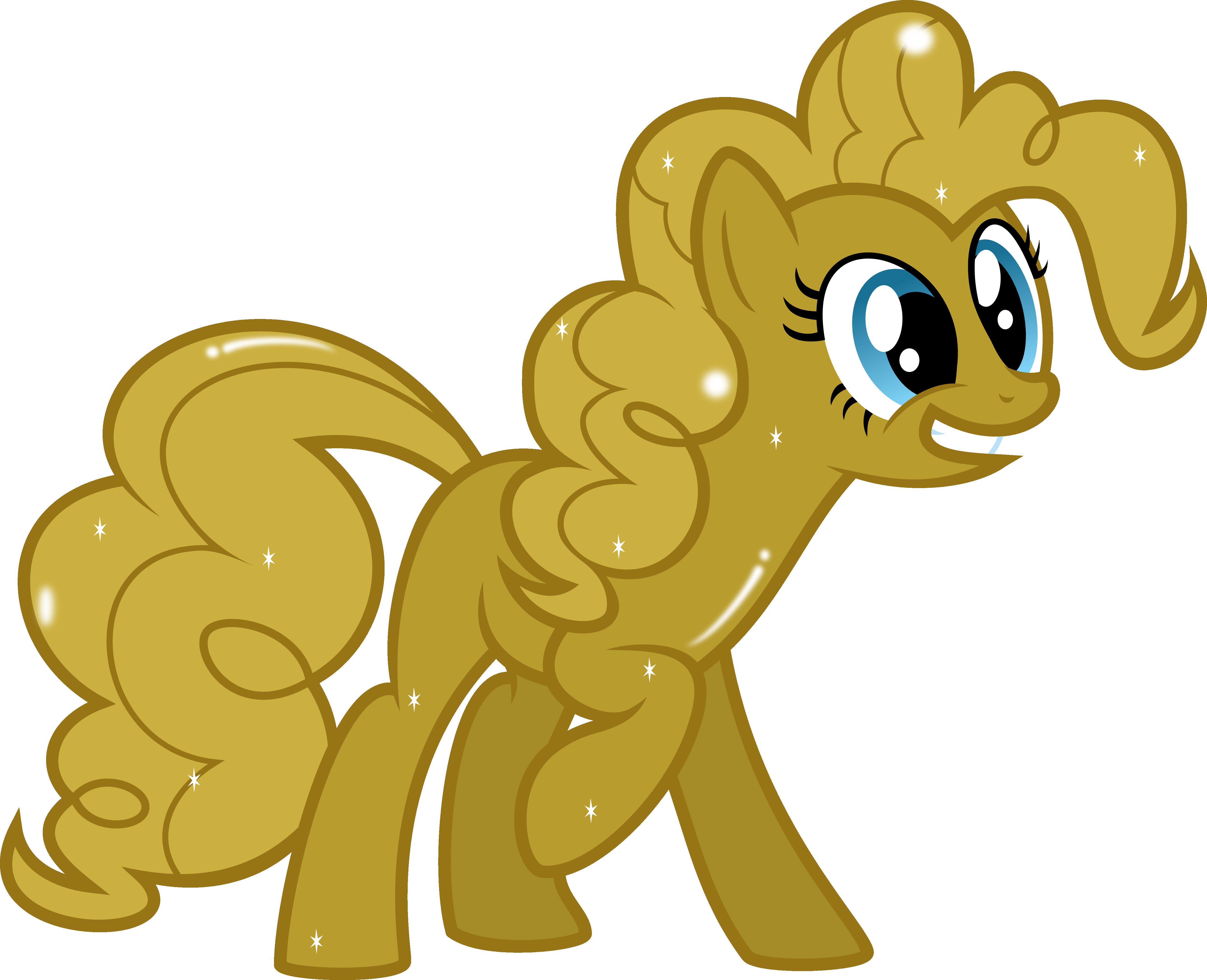 Golden Pinkie Pie!!!! by MrCbleck
