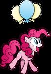Pinkie Pie Flying