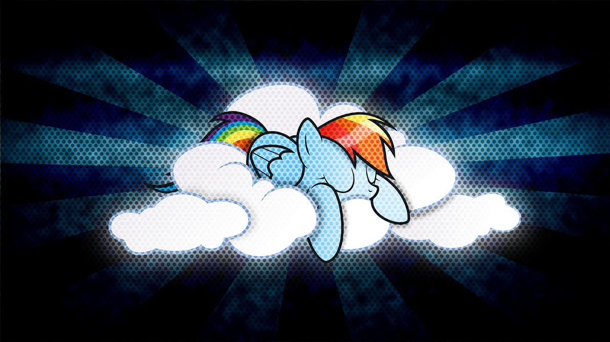Rainbow Dash Wallpaper By MrCbleck