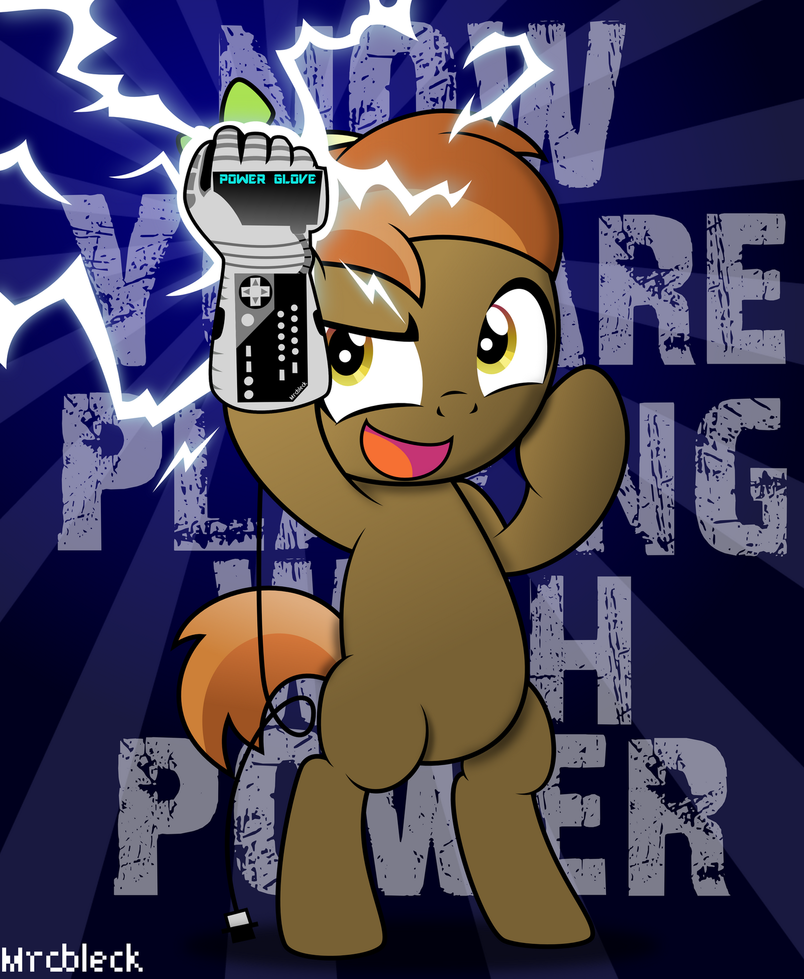 NOW YOU ARE PLAYING WITH POWER!! by MrCbleck