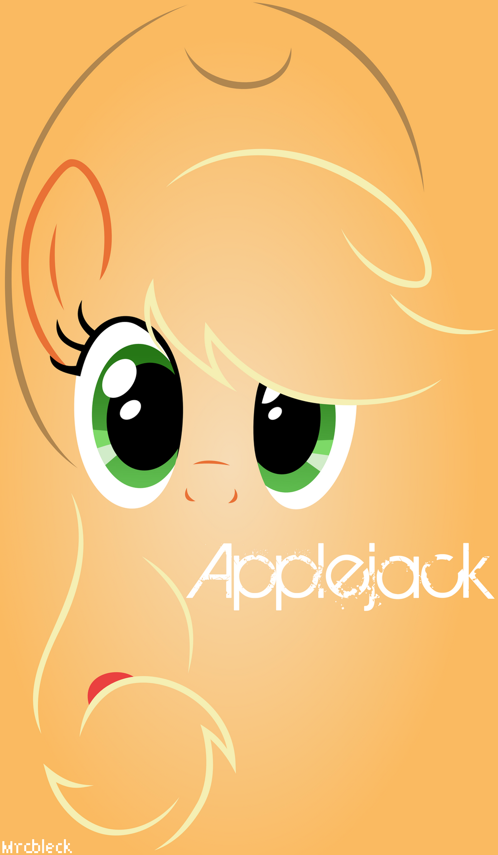 Lines- Applejack by MrCbleck